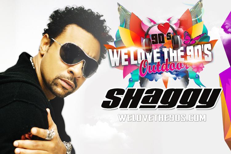 'We love the 90's' haalt Shaggy naar Nijmegen