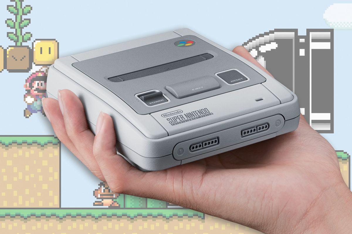 De SNES Classic Mini komt er aan!